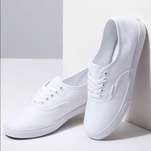 AUTHENTIC Lo Pro White Vans